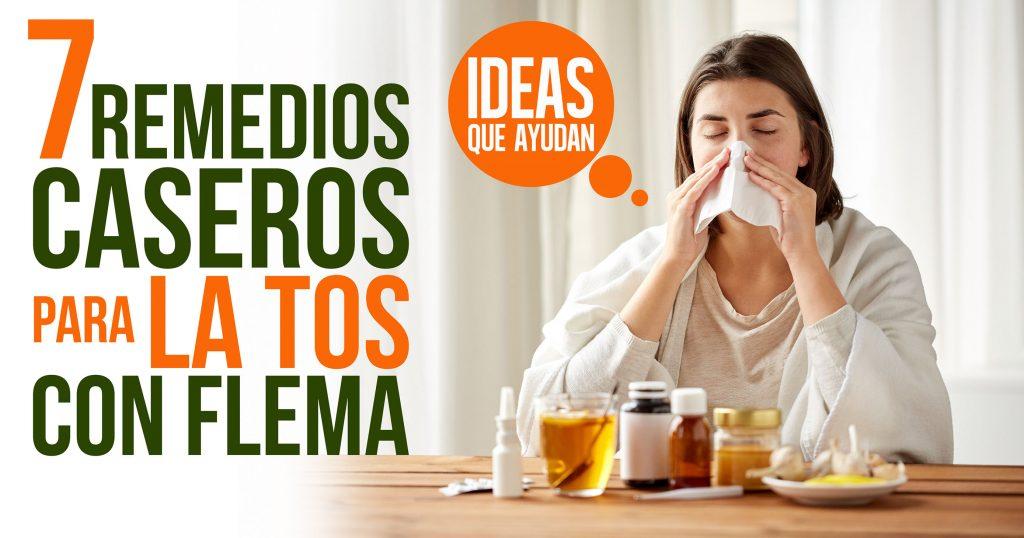 7 remedios caseros para la tos con flema