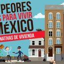 7 peores lugares para vivir en México y sus alternativas de vivienda