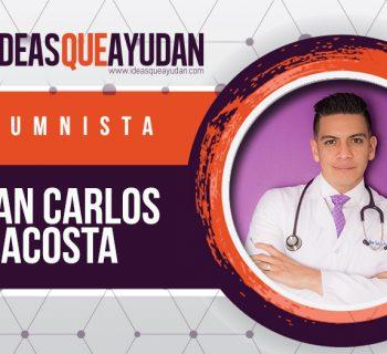 Juan Carlos Acosta en Ideas que Ayudan