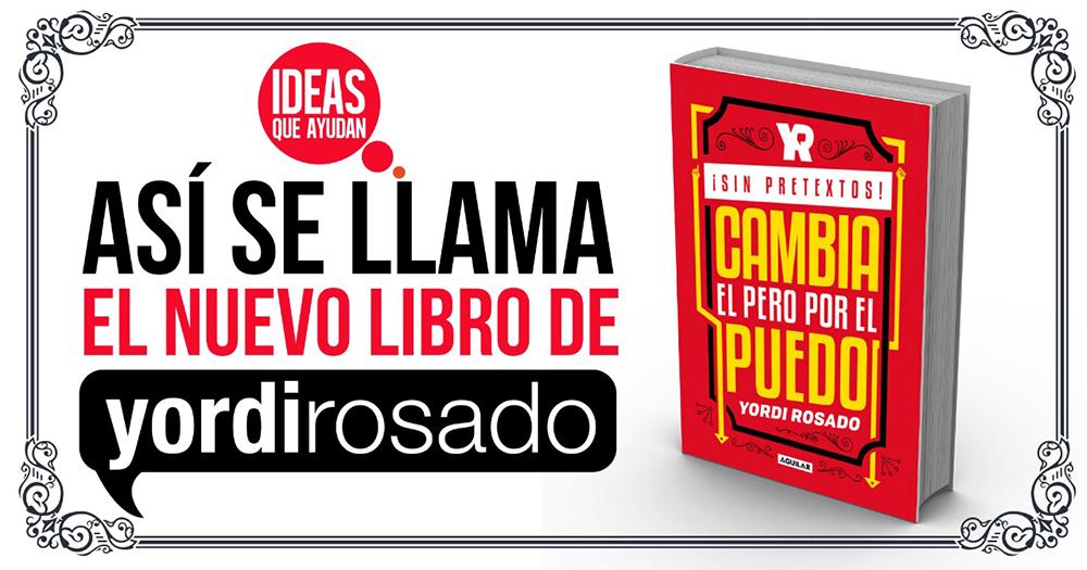 nuevo libro de Yordi Rosado