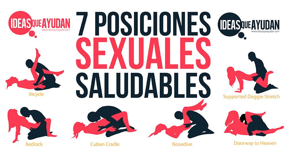posiciones sexuales saludables