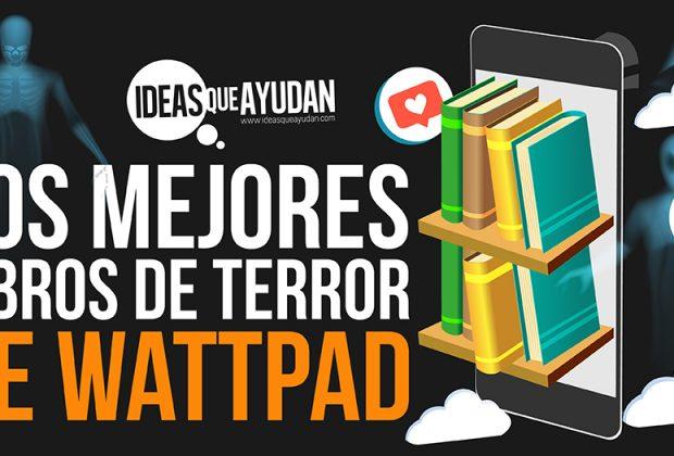 libros de terror de Wattpad