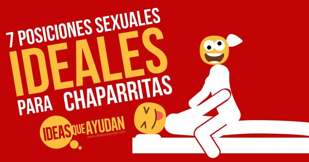 7 posiciones sexuales para las chaparritas