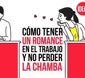 Cómo tener un romance en el trabajo y no perder la chamba