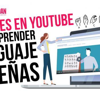 Canales en YouTube para aprender lenguaje de señas
