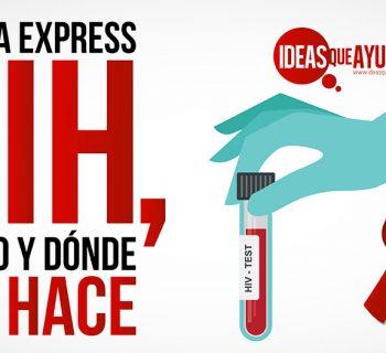 prueba express VIH
