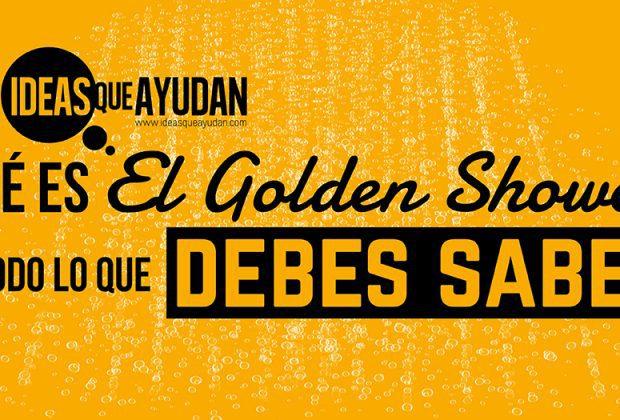 qué es el golden shower