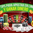 tips para apostar en linea y ganar dinero