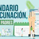 Calendario de vacunación guía para padres