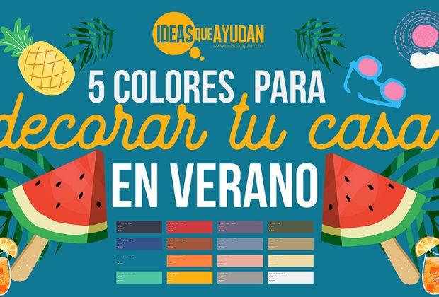 colores para decorar tu casa en verano
