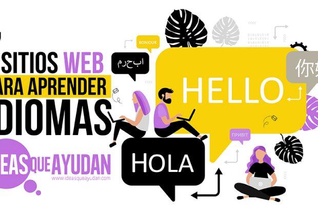 sitios web para aprender idiomas