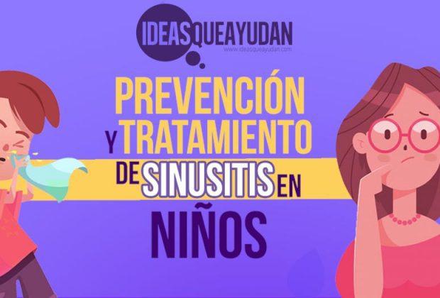 Prevención y tratamiento de sinusitis en niños