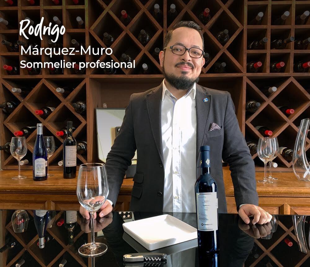 Rodrigo Márquez Muro Sommelier